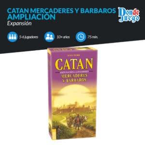 Catan Mercaderes y Bárbaros 5-6