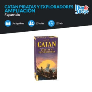 Catan Piratas y Exploradores 5-6