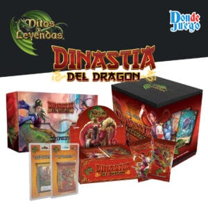 Mitos Y Leyendas Dinastía del Dragón Display de sobres