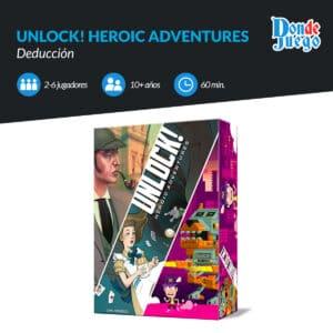 Unlock! Heroic Adventures