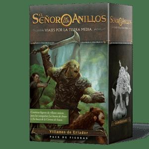 El Señor De Los Anillos Viajes Por La Tierra Media: Villanos de Eriador (pack de figuras)